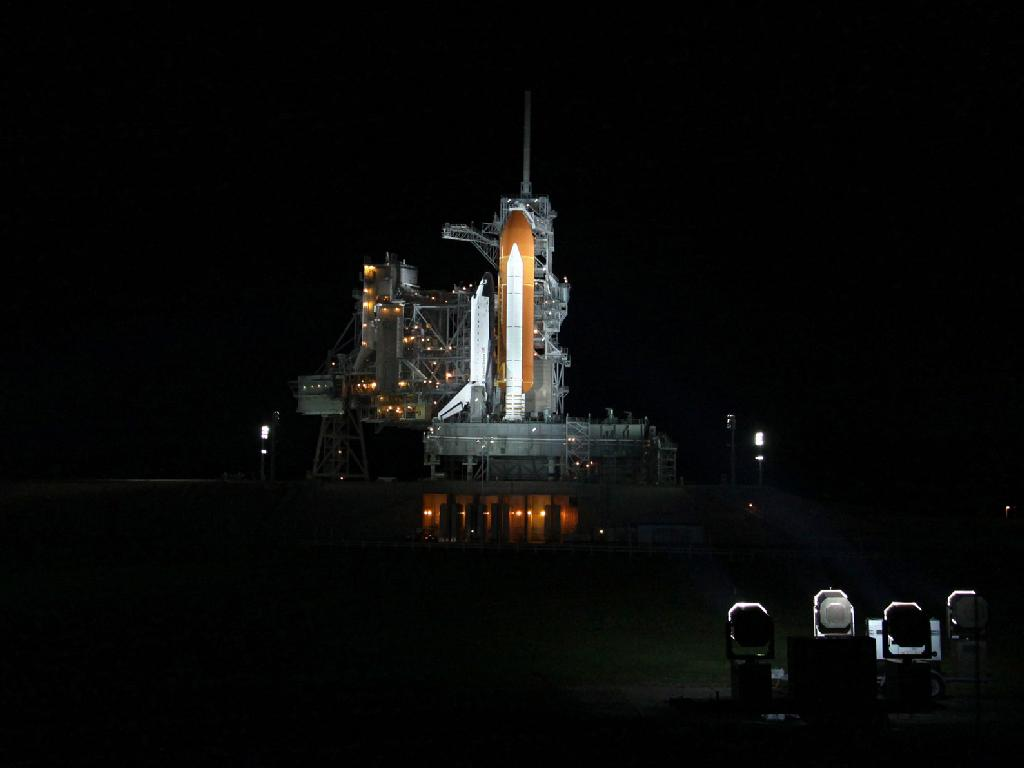 space shuttle endeavour night launch - photo #12