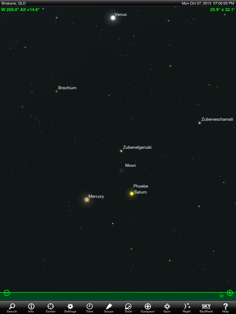 planet saturn location in sky - photo #9