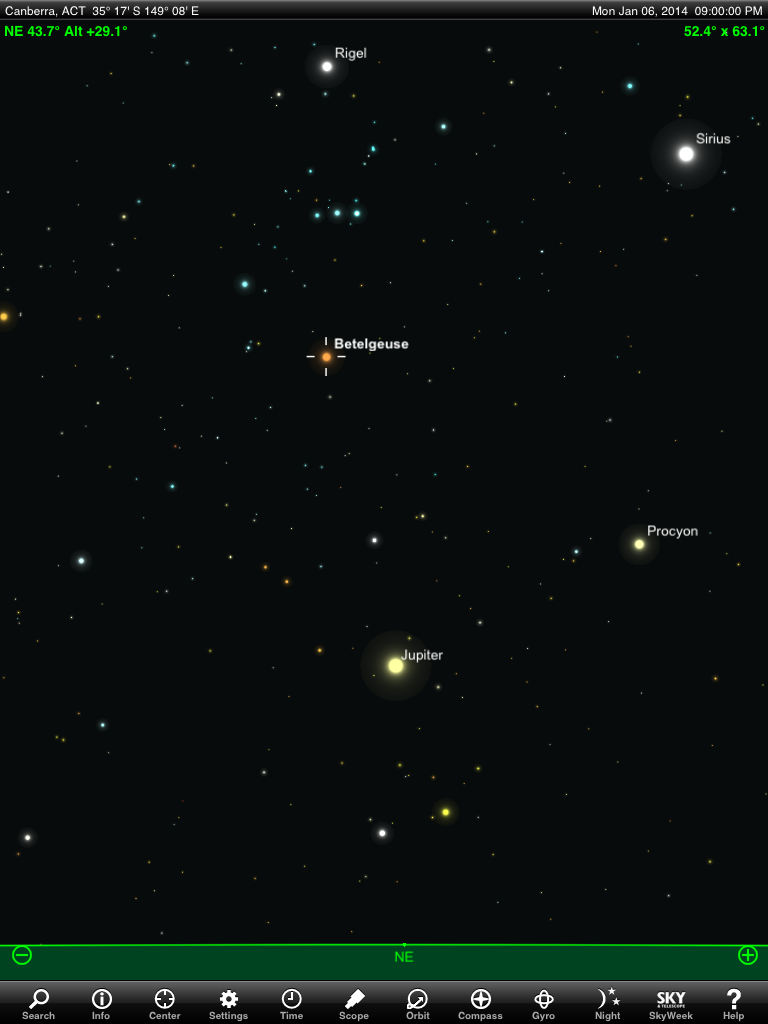 January 2014 Astronomy Events