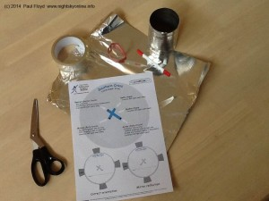 Make your own 'Tin Can planetarium'.